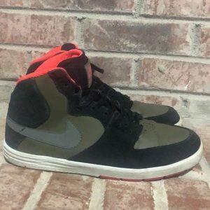 Kids Nike SB Paul rodriquez 7 high black sz 7y